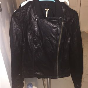 Freepeople Leather Jacket